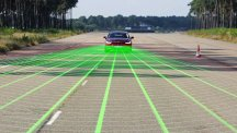 Ford Mondeo with Pre-Collision Assist with Pedestrian Detection