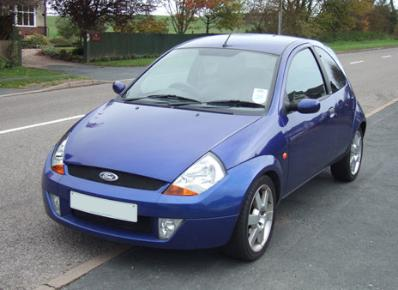 Ford Sport Ka - picture by Andrew Ogram