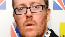Frankie Boyle said current TV guides look like 'the entertainment programme on a cruise ship'
