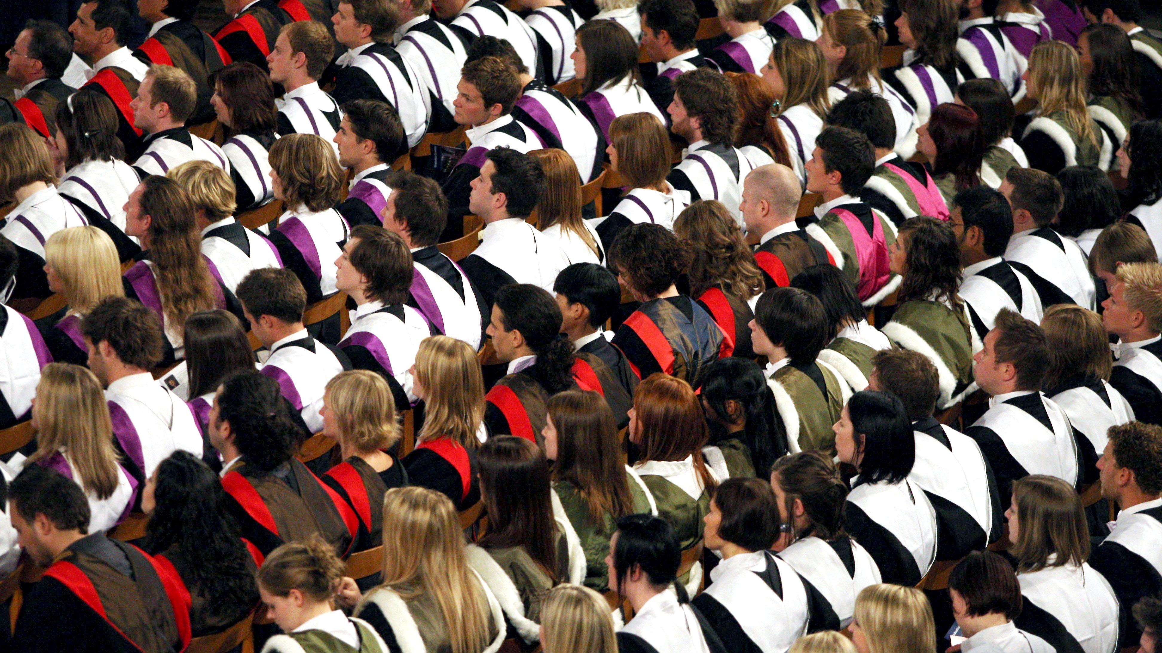 Free speech at universities 'being shut down'