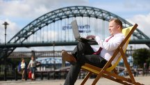 Free wi-fi for people on the move in Newcastle