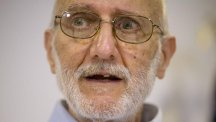 Alan Gross speaking during a news conference. (AP)