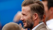 From curtains to quiffs: The changing hair of David Beckham