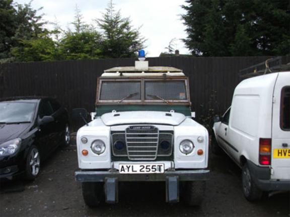 Embassy Siege Land Rover Up For Auction Bt