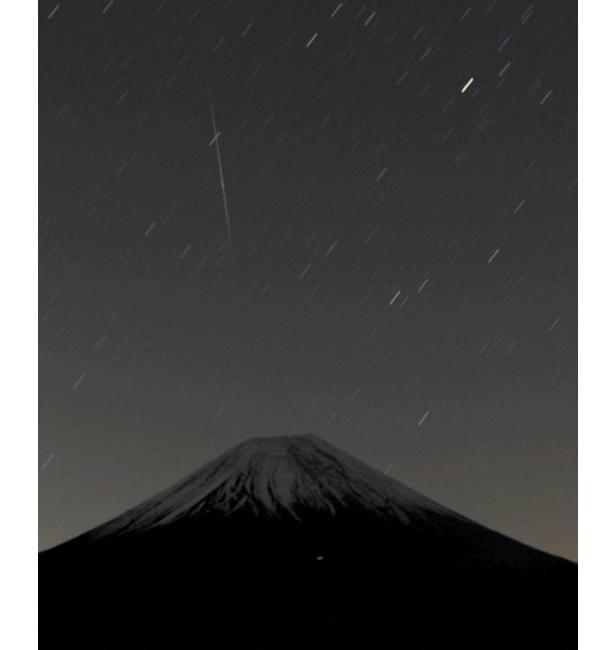 Stargazers watch the 2014 Geminid meteor shower near the Avren Observatory in Bulgaria.