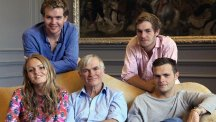 Siblings Arthur, Matilda, Humphrey and Edmund Fulford will star in six-part BBC3 show, called Life Is Toff