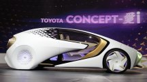 Futuristic cars are the stars as doors open at CES in Las Vegas