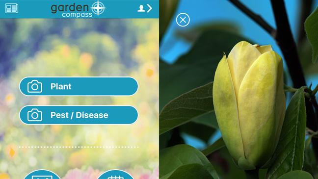 Garden Compass app screenshots
