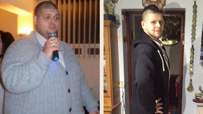 before and after weight loss pictures male angels