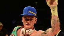 George Groves won the European Super-Middleweight title last night by beating Christopher Rebrasse at Wembley Arena.