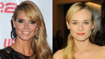German style icons Heidi Klum and Diane Kruger
