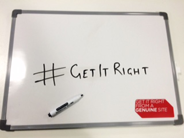 #Getitright