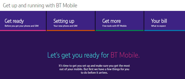 Get up and running with BT Mobile