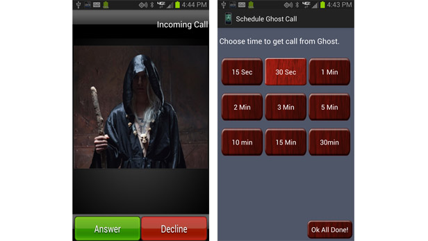 Fancy yourself as a ghost buster? Try these free spooky apps on your