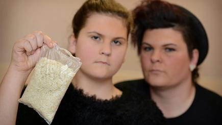 Girl finds eight maggots in supermarket's own brand boil-in-the-bag rice
