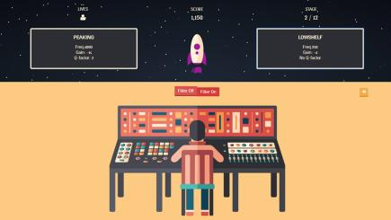 Give your ears a workout with this audio Space Invaders-like game