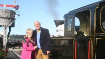 Gloria Hunniford with Len Goodman