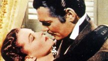 Vivien Leigh and co-star Clark Gable star in Gone With The Wind