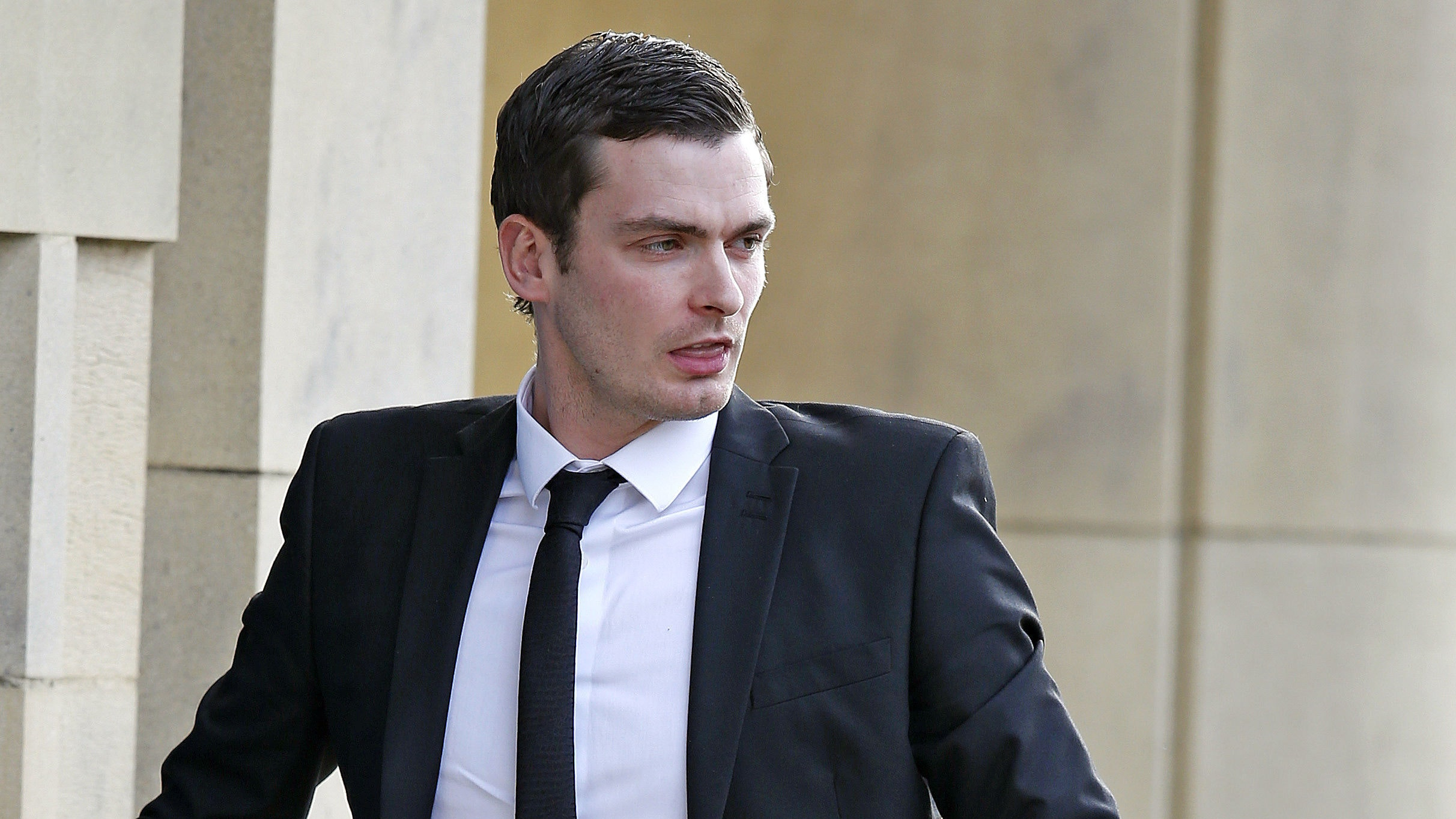 Adam Johnson released from prison after serving half original sentence