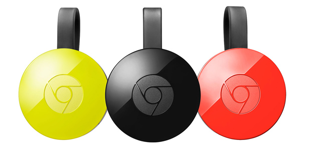 Google Chromecast colour options