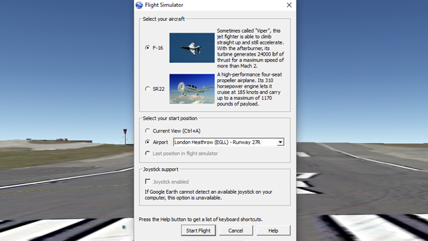 Take to the skies with Google Earth's flight simulator | BT