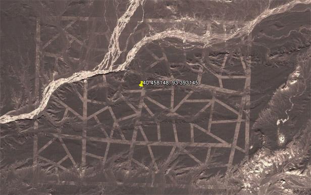 Google Earth - China patterns