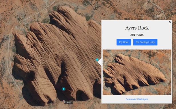 Google Earth - Uluru
