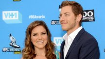 Google executive Dan Fredinburg, pictured with Sophia Bush, described himself as an adventurer (Invision/AP)