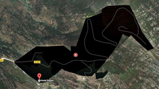 Hidden places on Google Maps - Girona, Spain