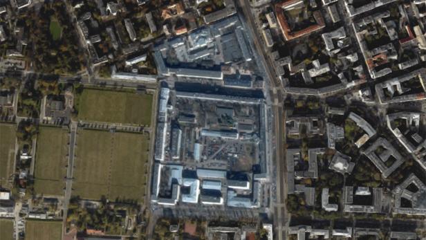 Top Secret Places Hidden By Google Maps BT - Google maps aerial view