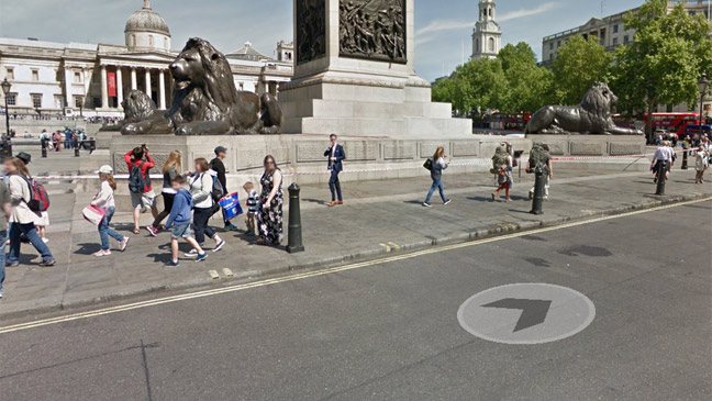 how to use google street view bt