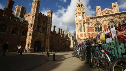 St John's is one of five Cambridge University colleges to feature on the online map