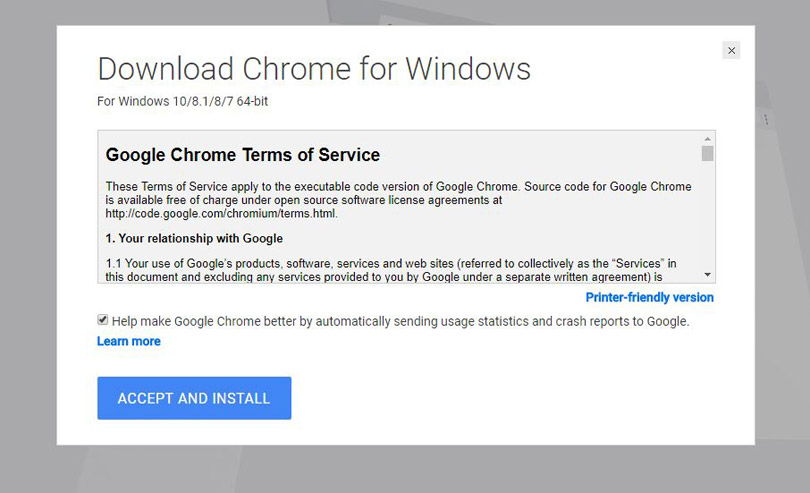 free download google chrome offline installer for windows 7 32 bit