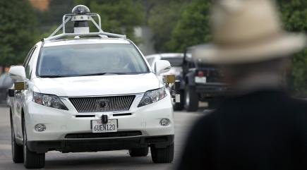 Google's driverless cars have clocked up two million miles
