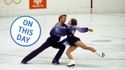On this day: Torvill and Dean win gold