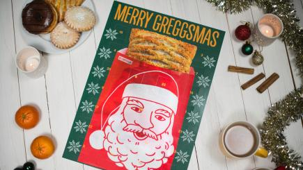 Greggs have put their own spin on the advent calendar with this voucher-filled effort
