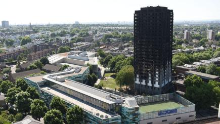 London apartment blaze: Firefighter's despair he 'could have done more'