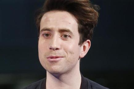 Nick Grimshaw is taking part in a marathon bike challenge