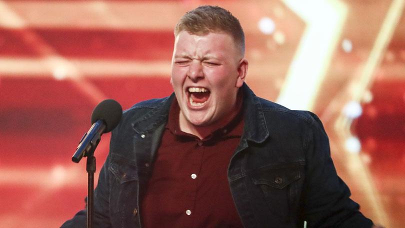 Gruffydd Wyn on Britain's Got Talent