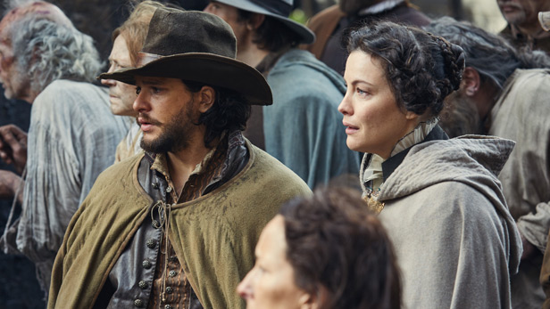 'Gory' Gunpowder and star Kit Harington praised by viewers