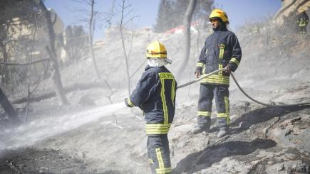 West Bank settlement evacuated in 5th day of Israeli fires