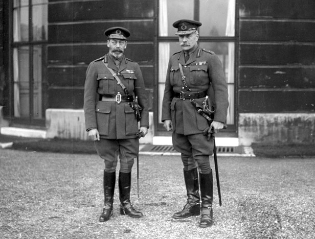 King George V and General Sir Douglas Haig.
