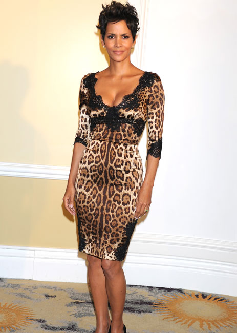 Stacey B Leopard Skin Gown
