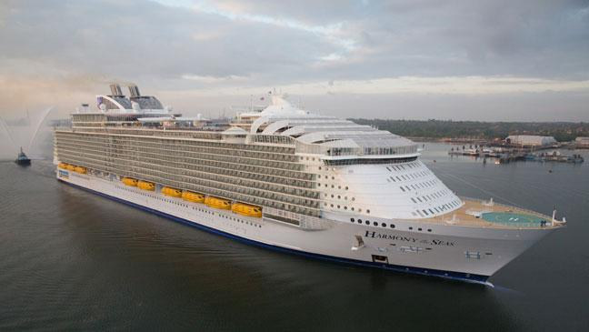 Butlins At Sea Heres What Mega Cruise Ship Harmony Of The Seas - Cruise ship trouble