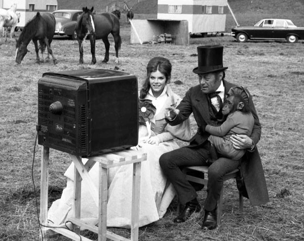 A record 32.3 million Britons watched the match on TV, including Rex Harrison, actress Samantha Eggar and Chee-Chee the chimp.