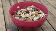 Bowl of muesli