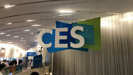 Heavy rain puts dampener on Google's first ever CES booth in Las Vegas