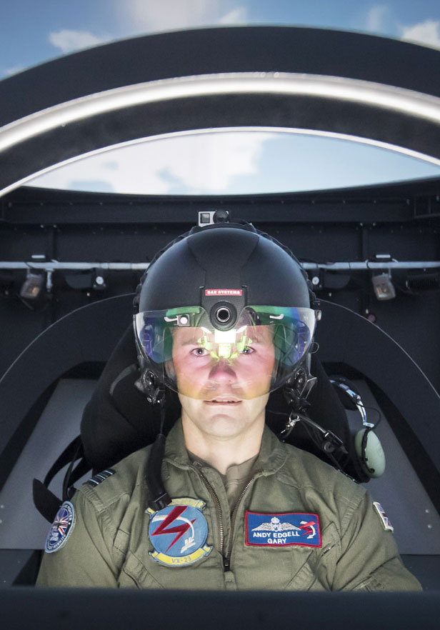 F35 helmet