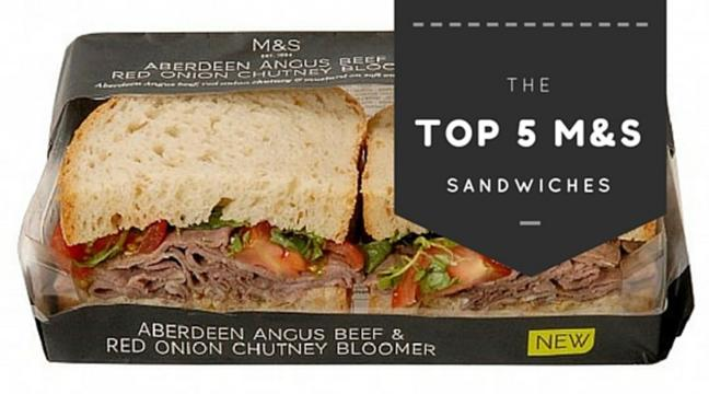 8c00306784 Here are the top 5 Marks & Spencer sandwiches worth purchasing on your  lunch break