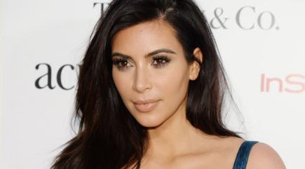 Kardashian dress Kim latex